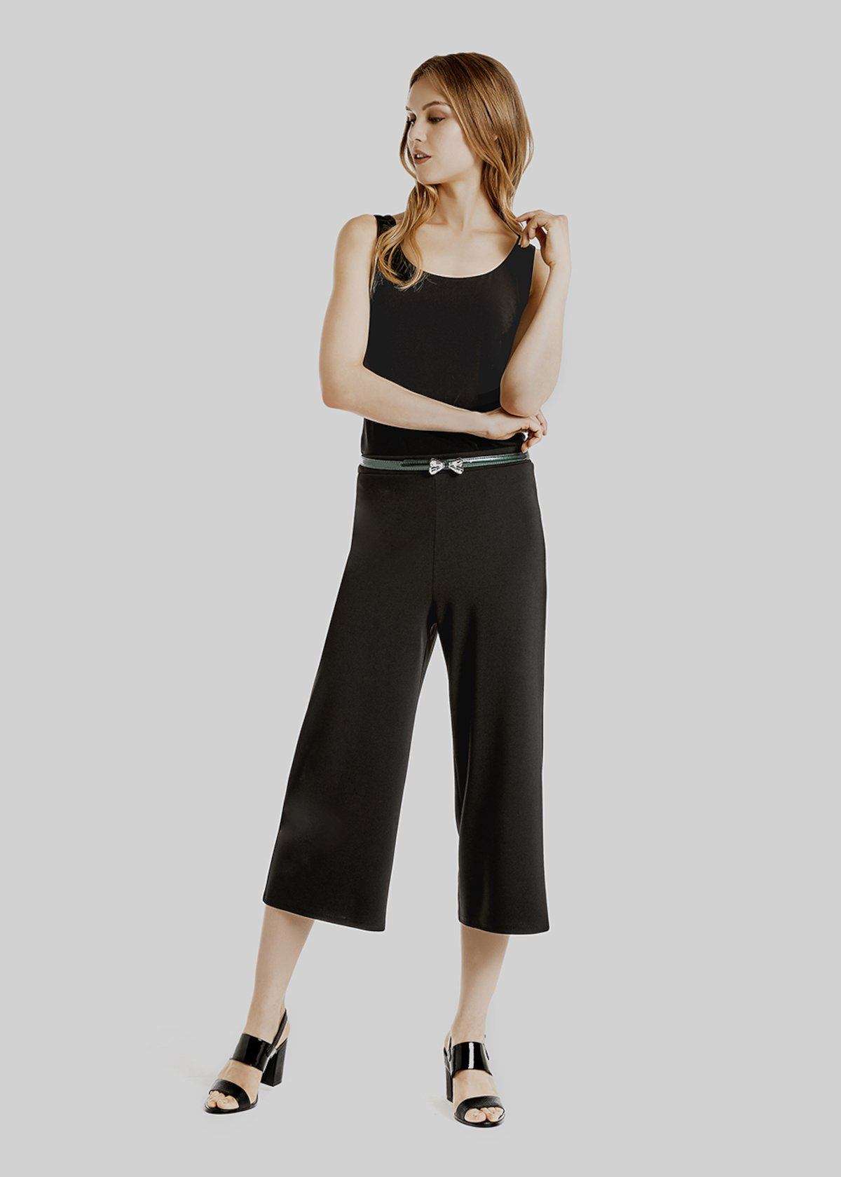 Paco short palazzo trousers