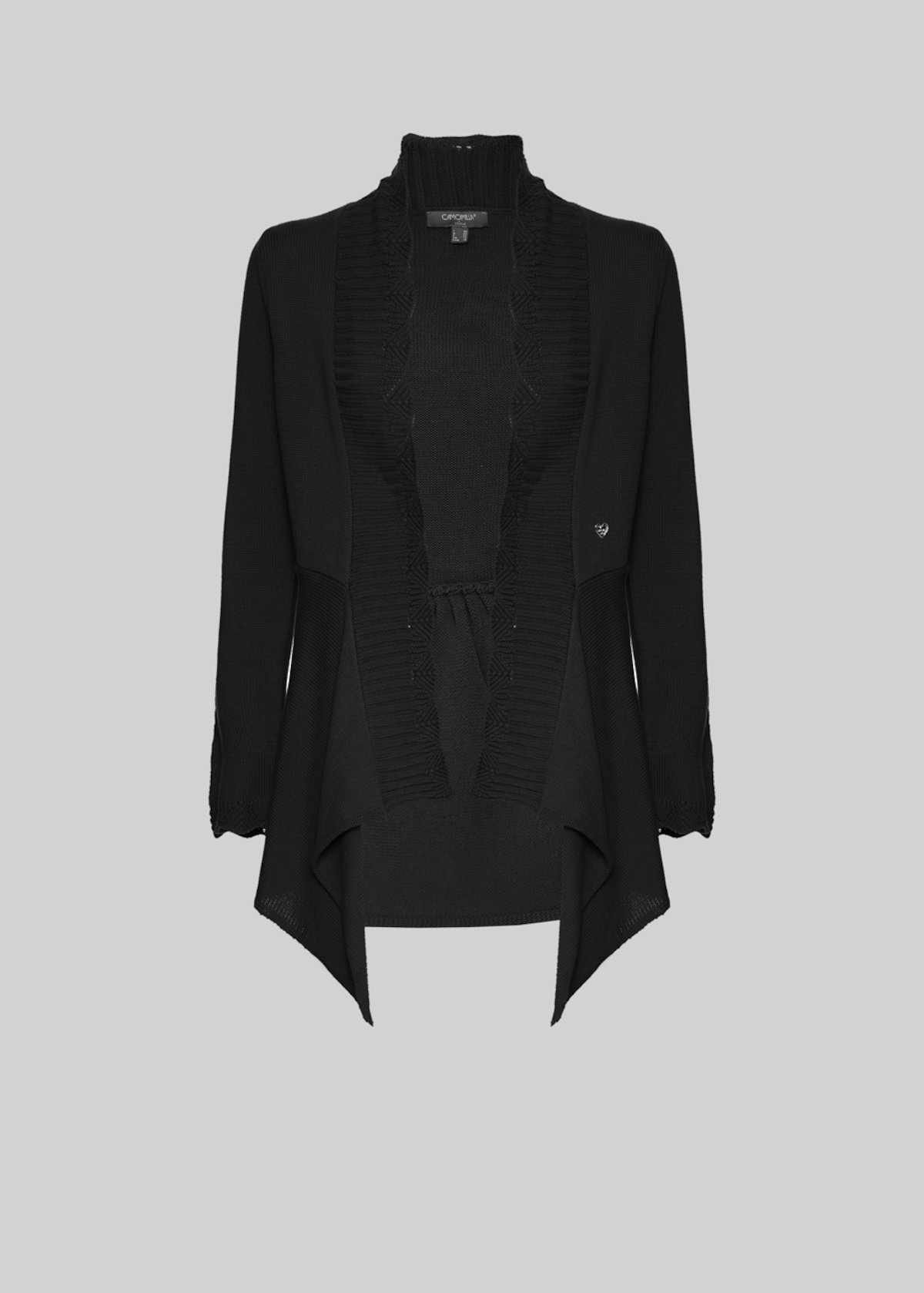 Cril long sleeved cardigan - Black - Woman - Category image