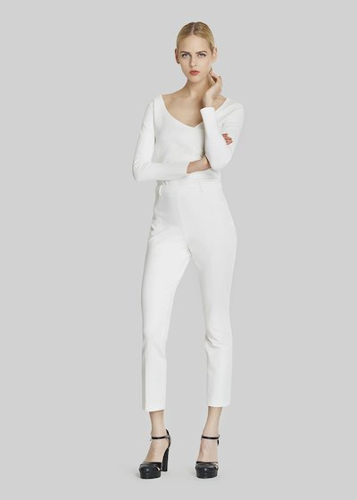 Pampero trousers with side zipper closure
