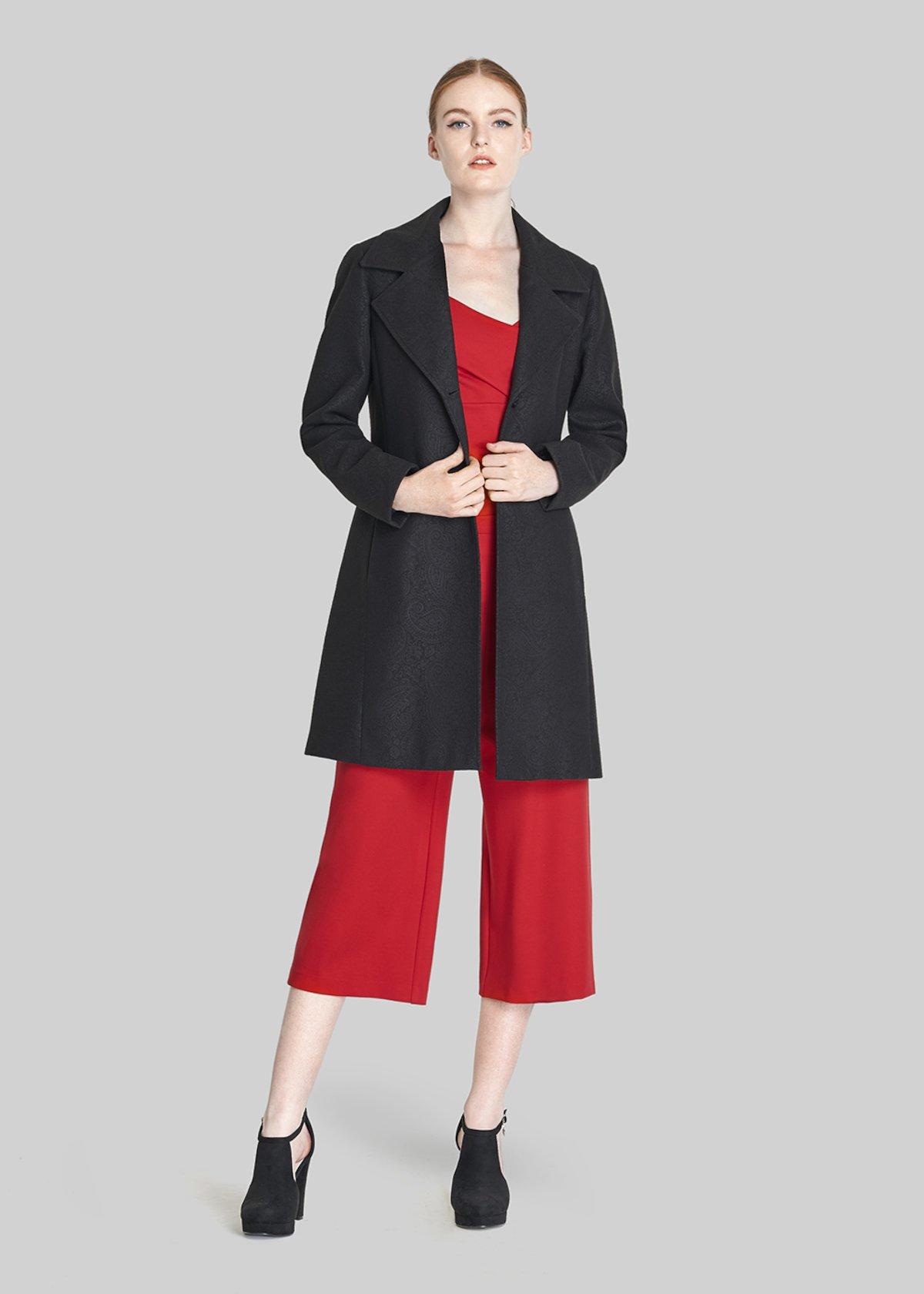 Clio Single breasted long sleeve coat