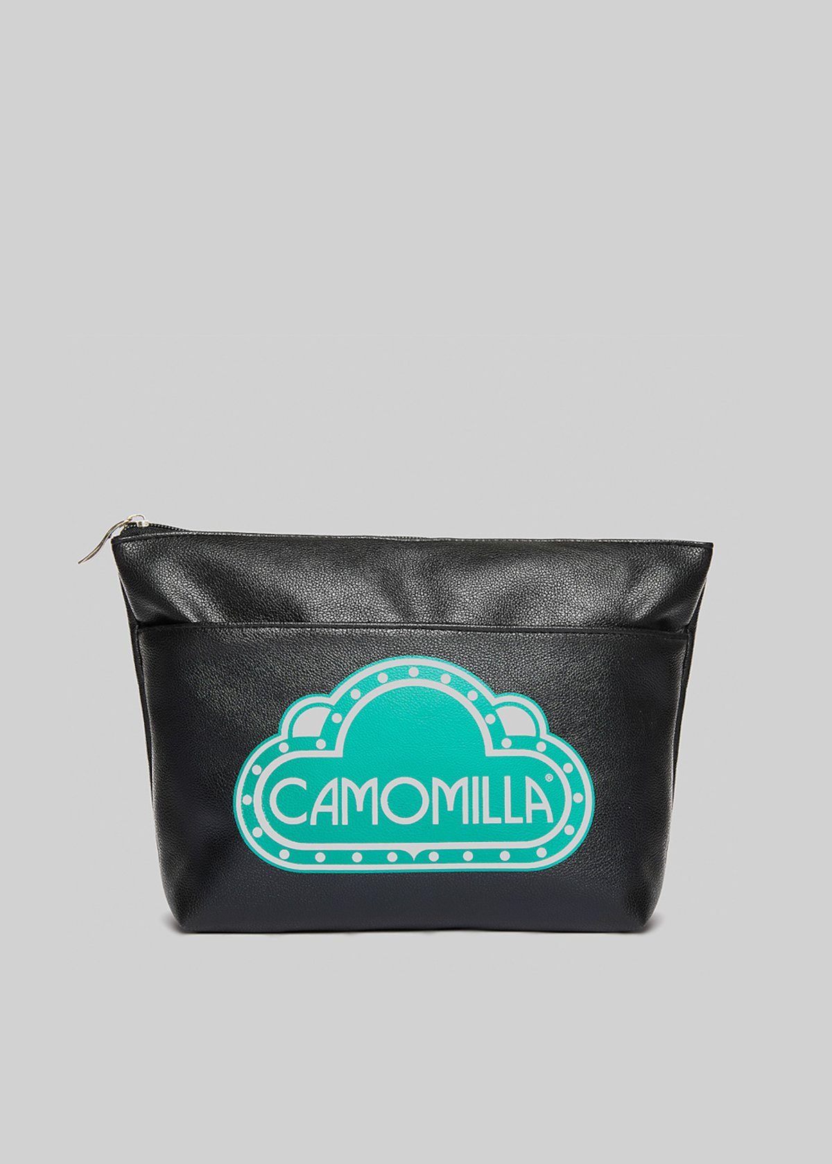Beauty Blady in ecopelle con logo Camomilla