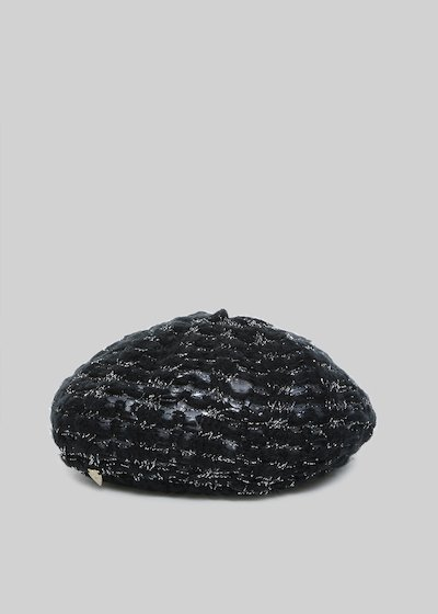 Coray hat with lurex effect