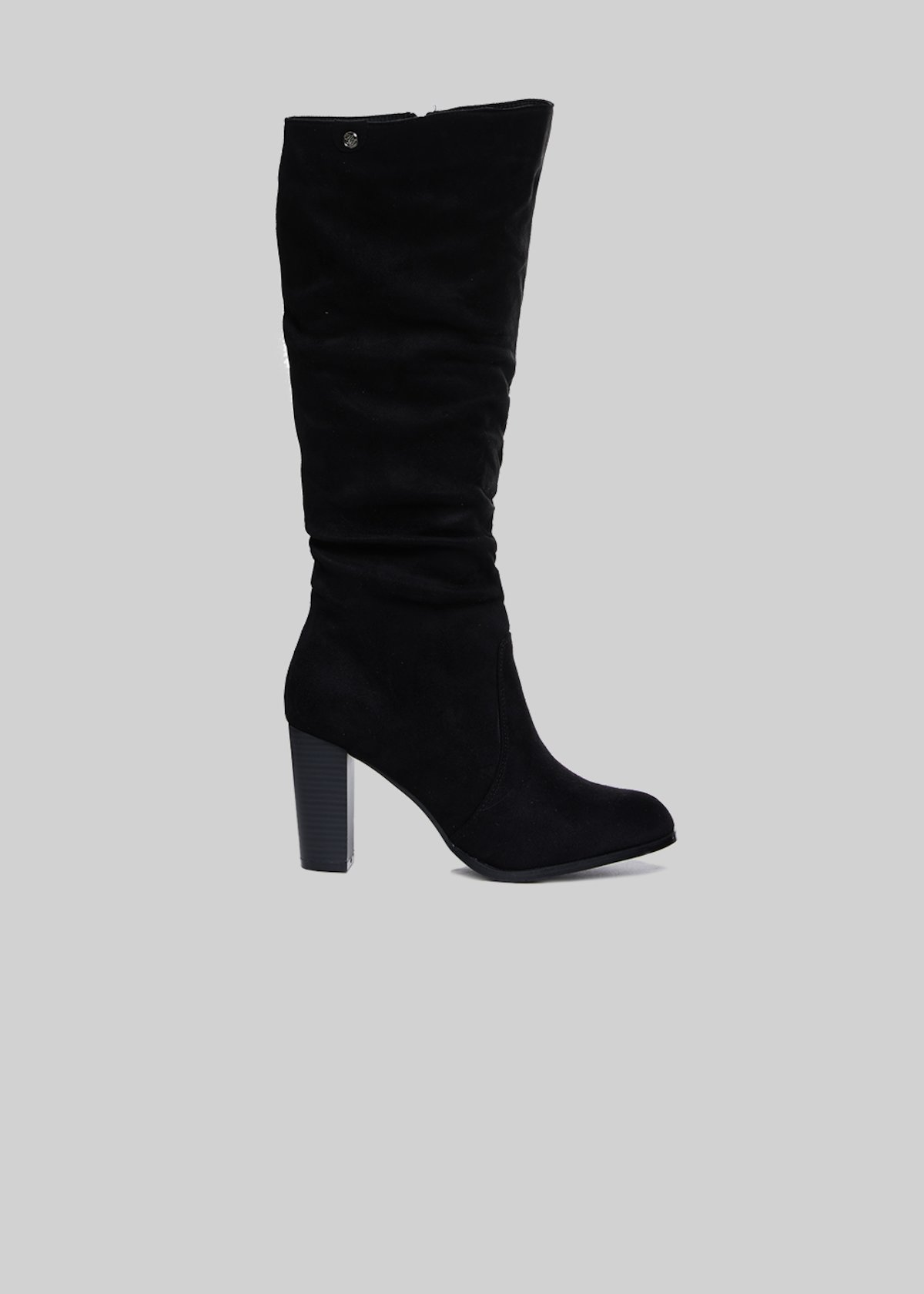 Shyma boots with high leg - Black