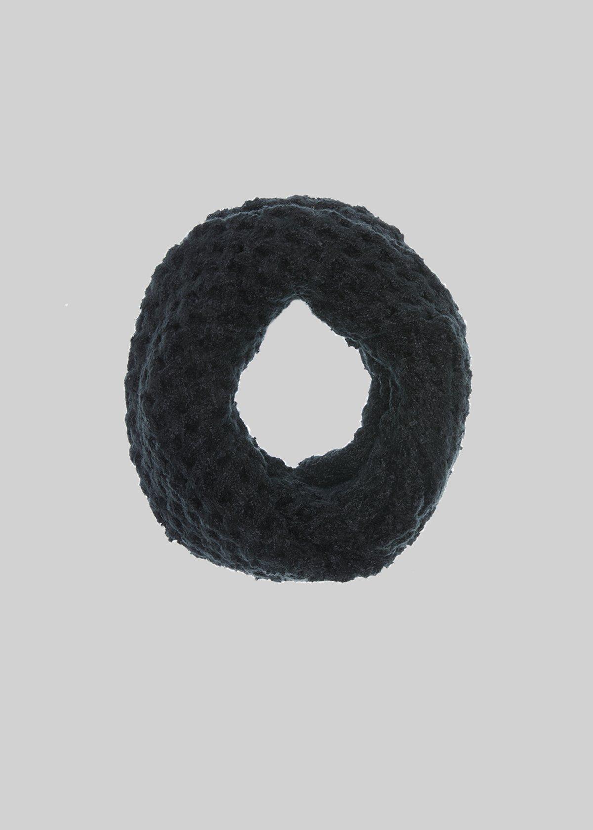 Sidney infinity scarf in melange knit