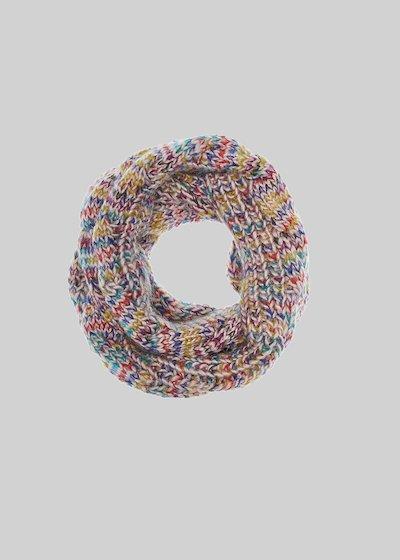 Collo Shane in maglia intrecciata multicolor