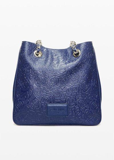 Shopping bag Brandy6 in ecopelle flower fantasy
