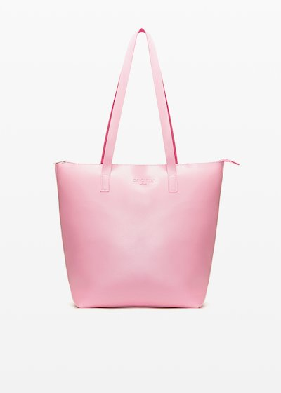 Shopping bag Bilia6 in ecopelle sfoderata double color