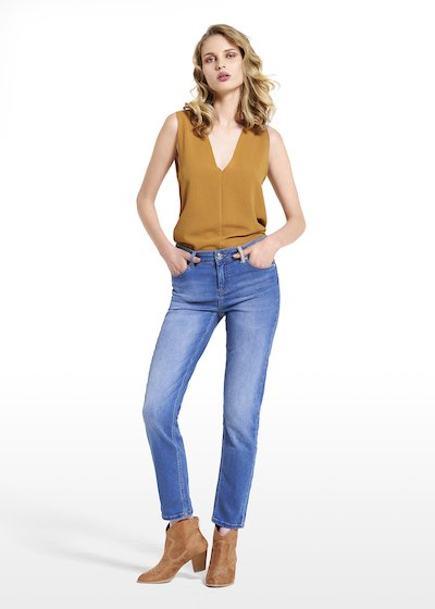 Jeans Donny with lurex detail