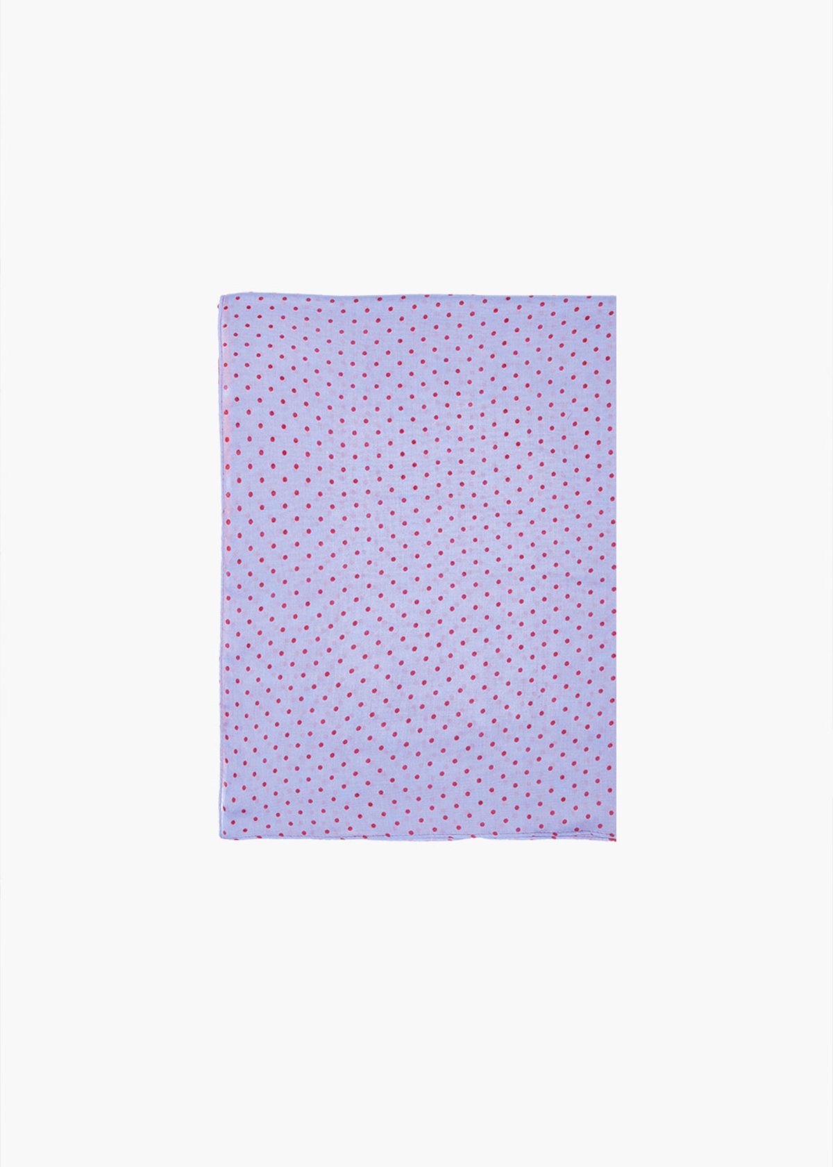 Sally scarf with polka dot pattern - Tulipano / Linen Pois - Woman