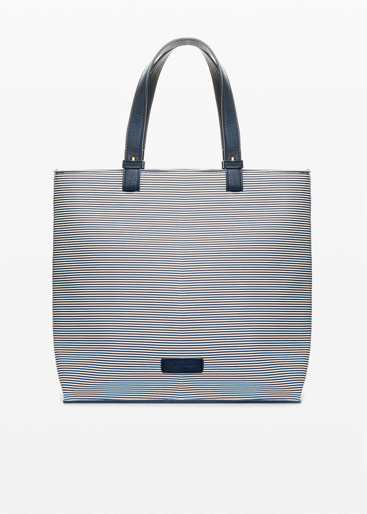 Bruce bag stripes fantasy - Blue / White Stripes - Woman