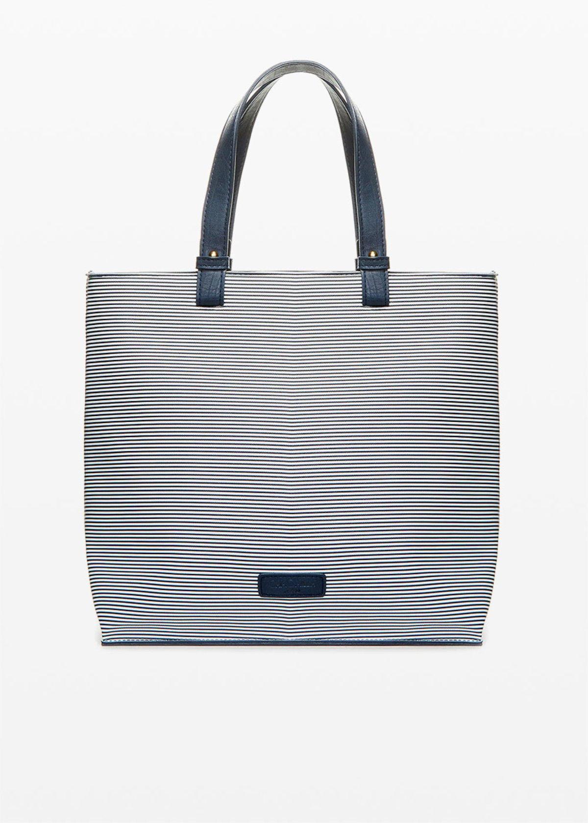 Bruce bag stripes fantasy - Blue / White Stripes - Woman