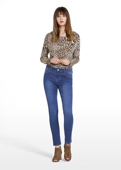 Jeans Denver con dettaglio punto di filato intorno alle tasche