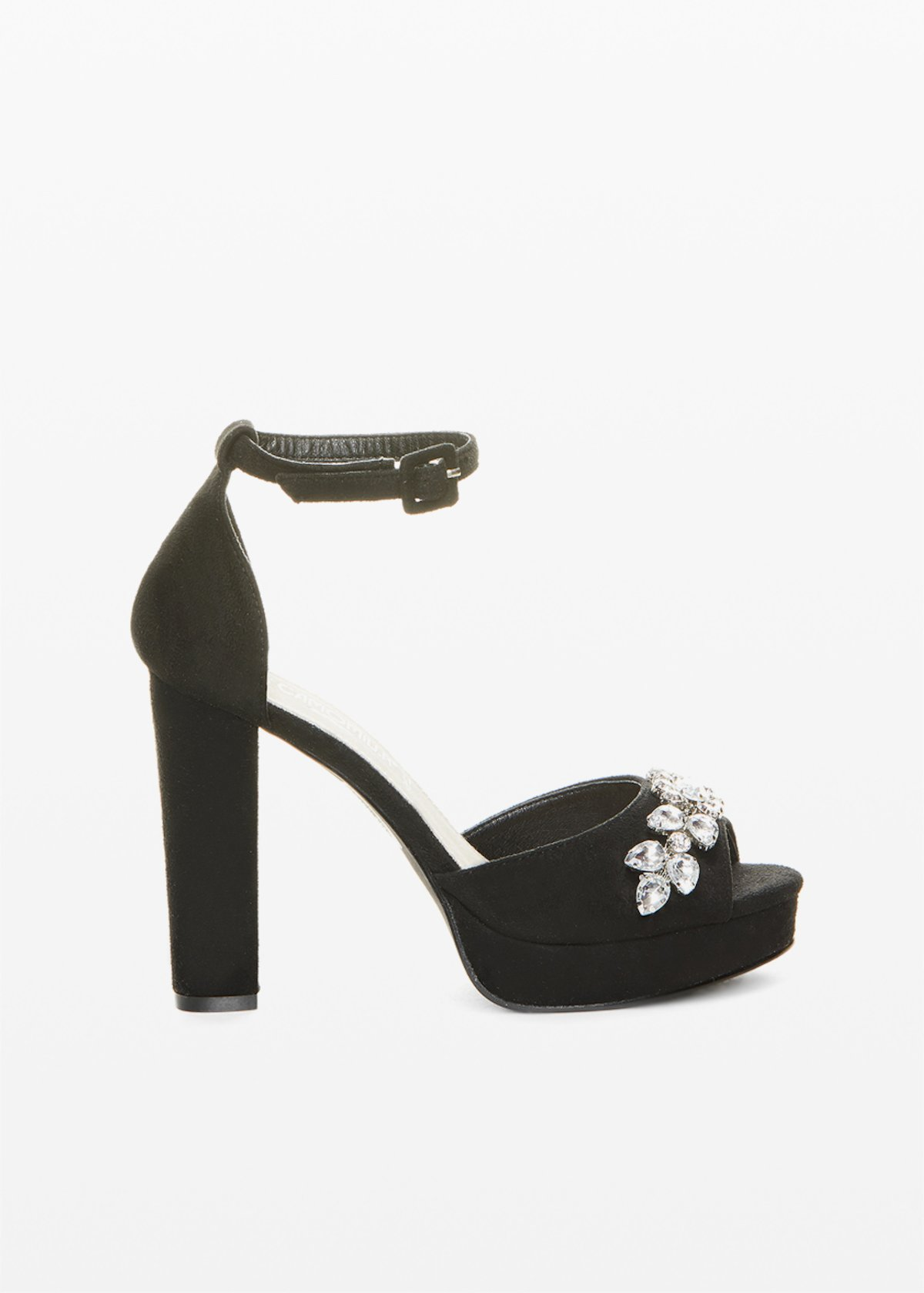 Selya Sandals crystal stones detail - Black - Woman - Category image
