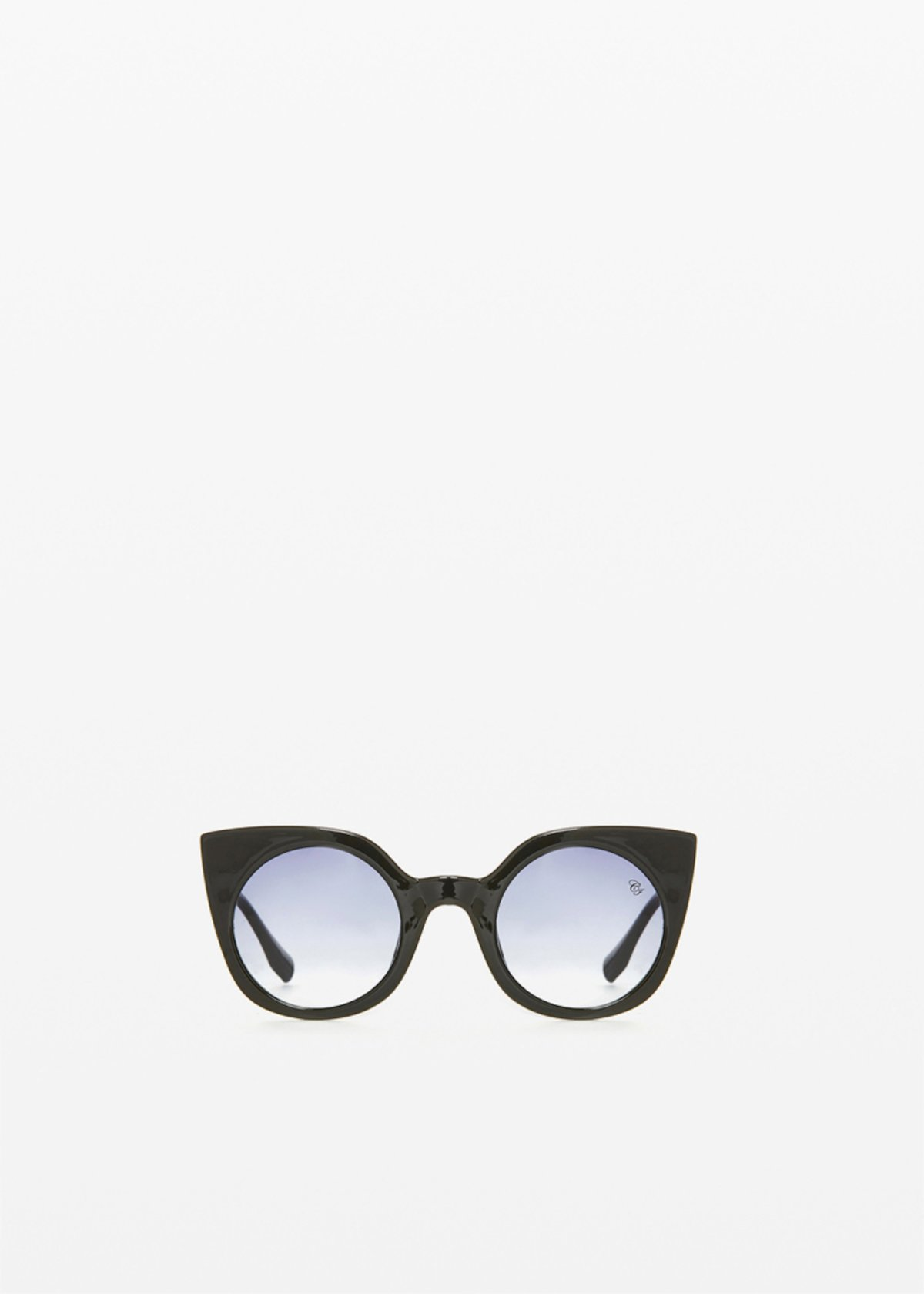 RFP-9904 Sunglasses animal print cat-eye model - Black - Woman
