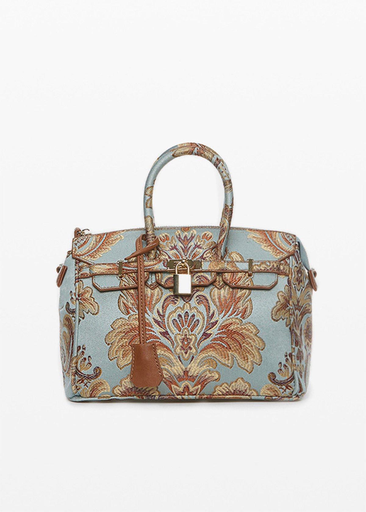 Byrds brocade effect bag