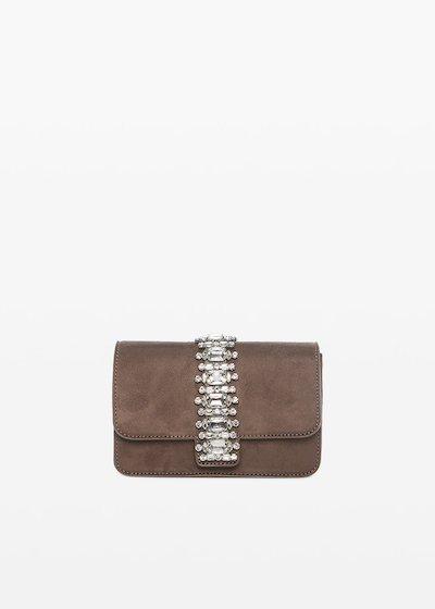 Blink Shoulder bag with crystal stones
