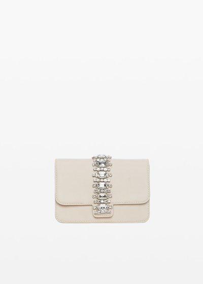 Blis Shoulder bag with crystal stones