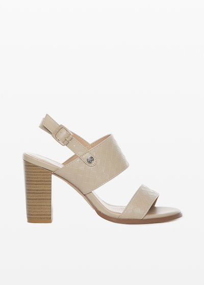 Sadik faux leather sandals