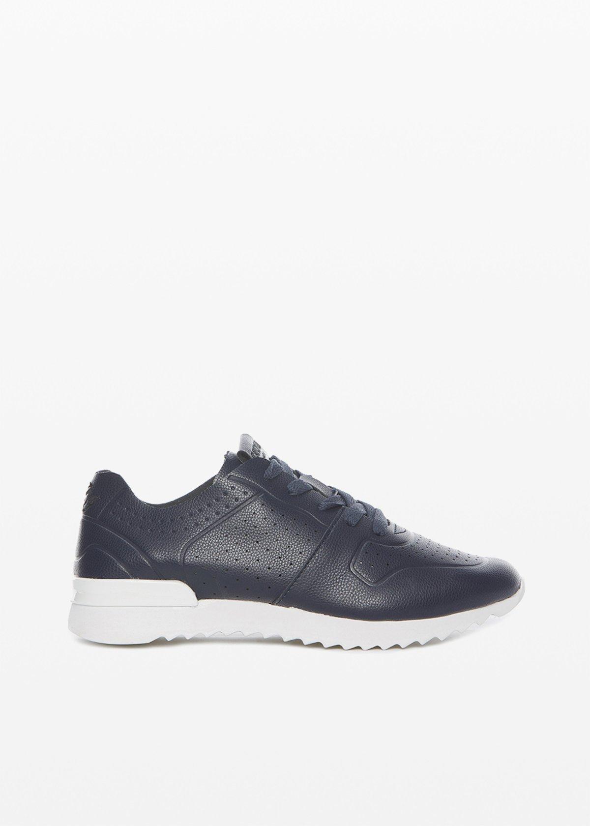 Sneakers Sylvie ultralight con dettaglio traforo - Medium Blue - Donna