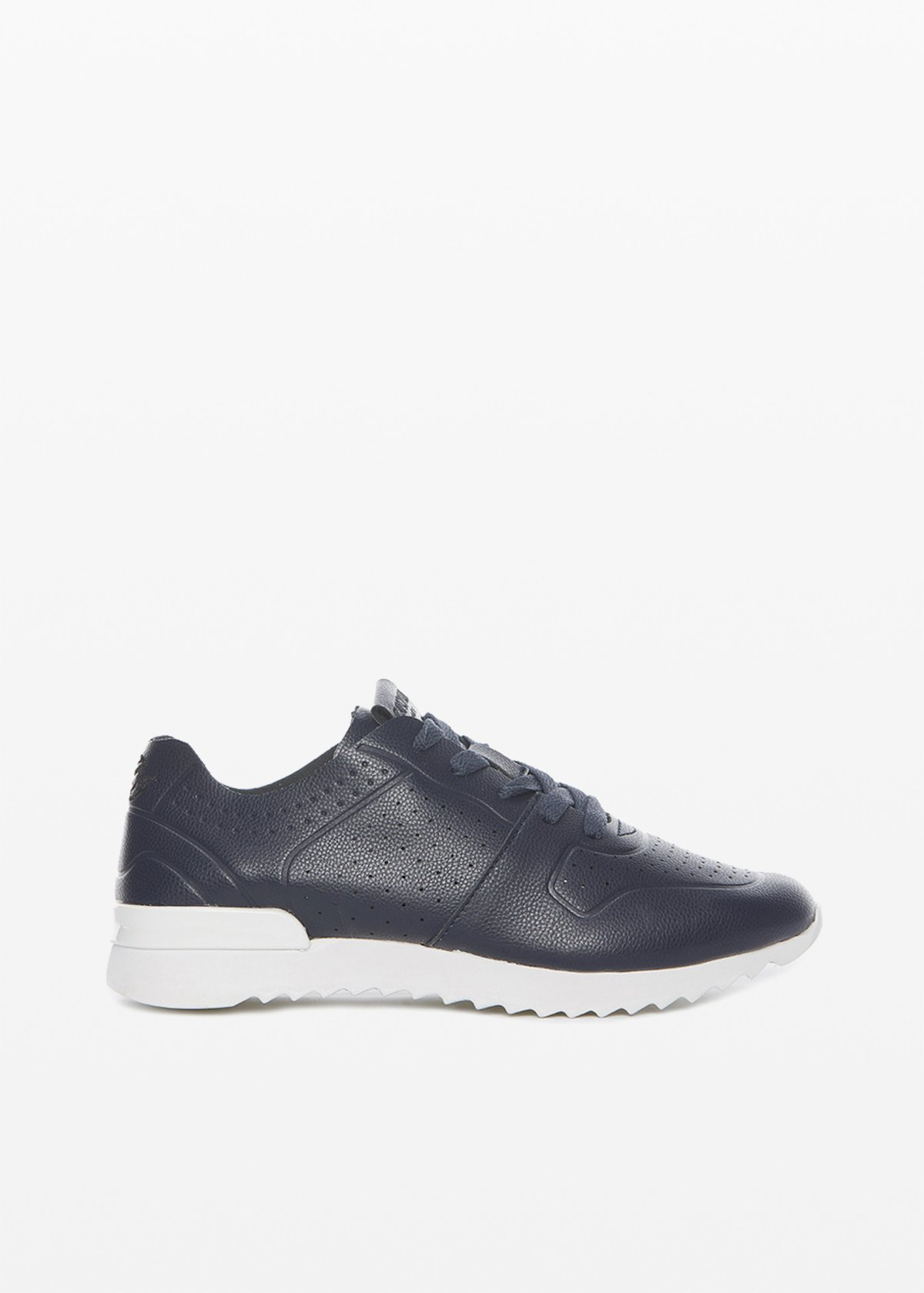 Sylvie ultralight sneakers perforation detail - Medium Blue - Woman
