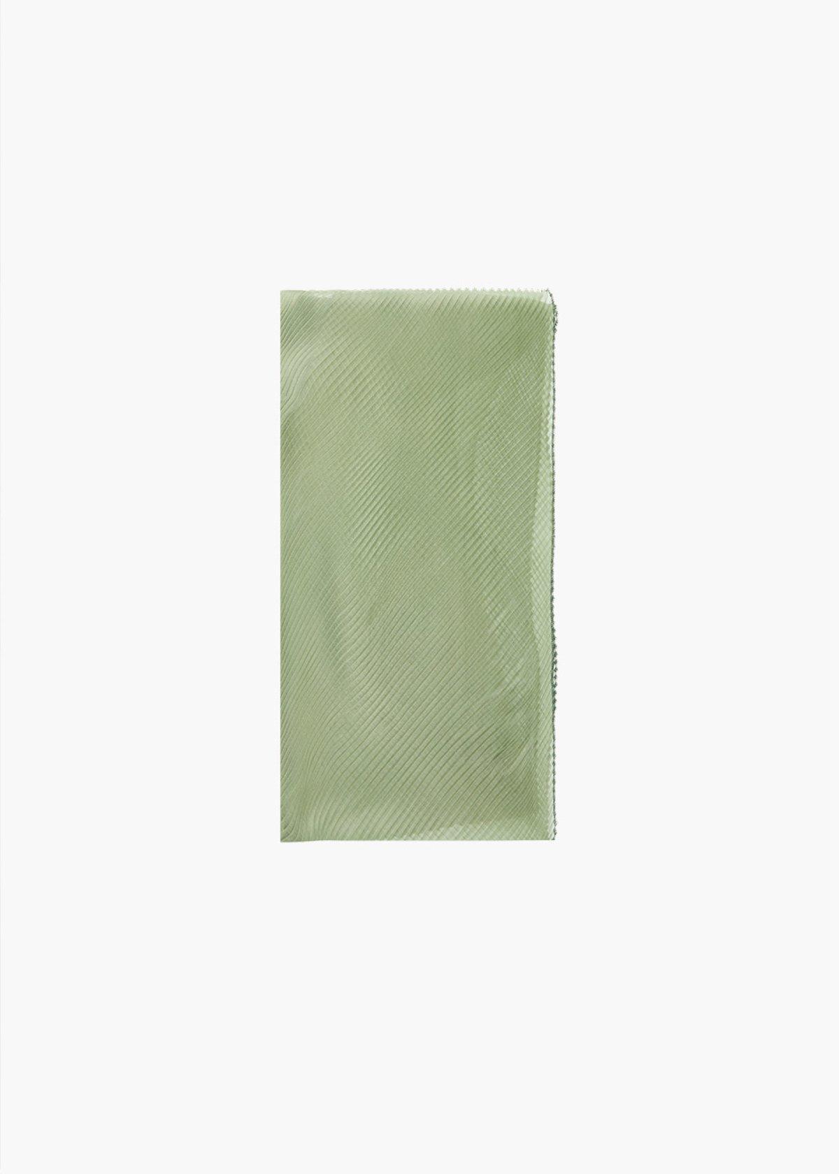 Sciarpa Swewa con doppio colore - Alga / Avocado - Donna