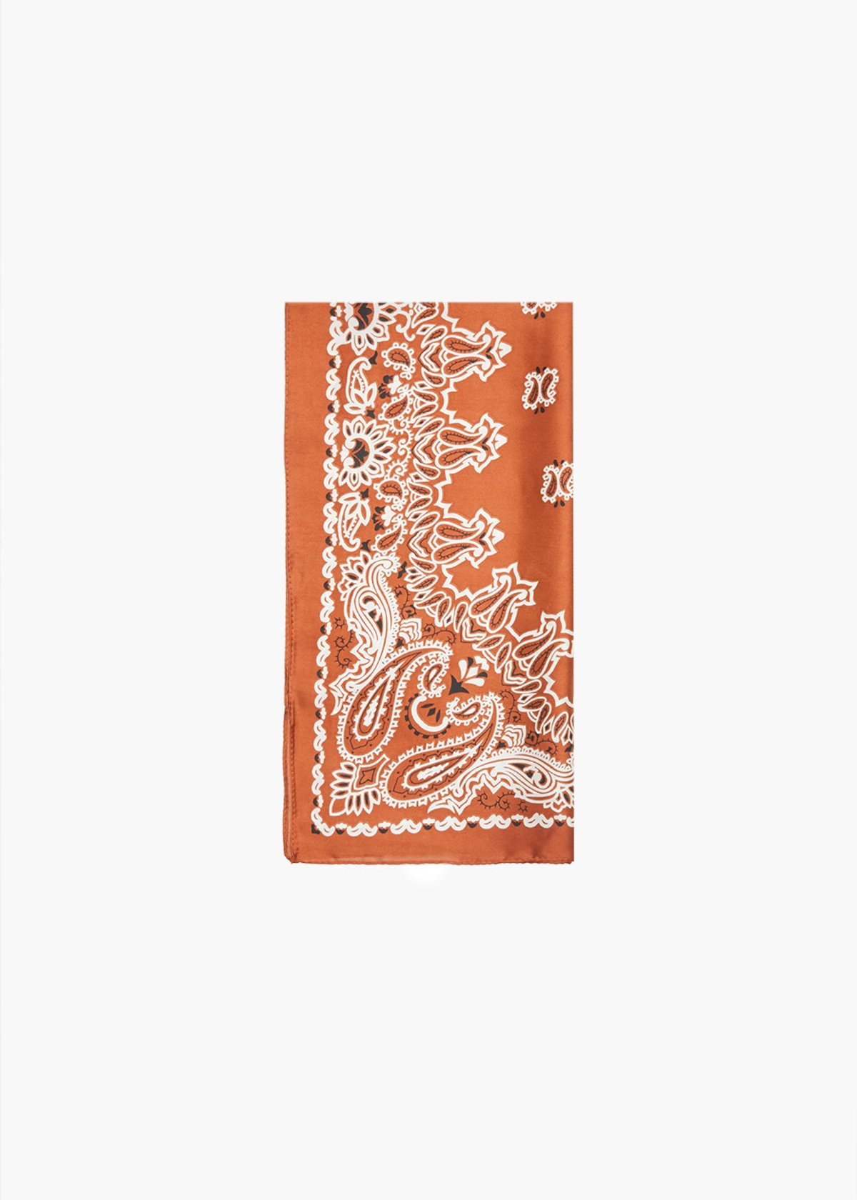 Sadda bandana with animal print - Rame / White Fantasia - Woman