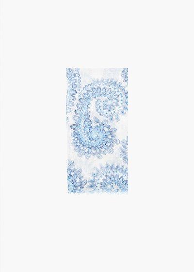 Shirly cashmere print scarf