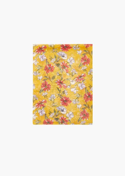 Sira floral print scarf