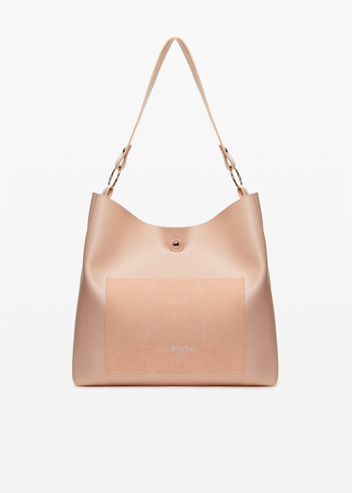 Shopping bag Babel con logo