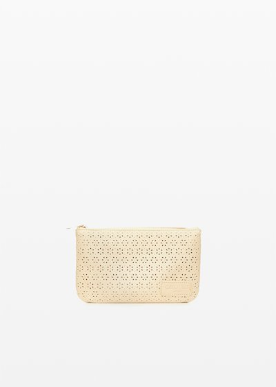 Tongflope Tonga bag with perforated flowers
