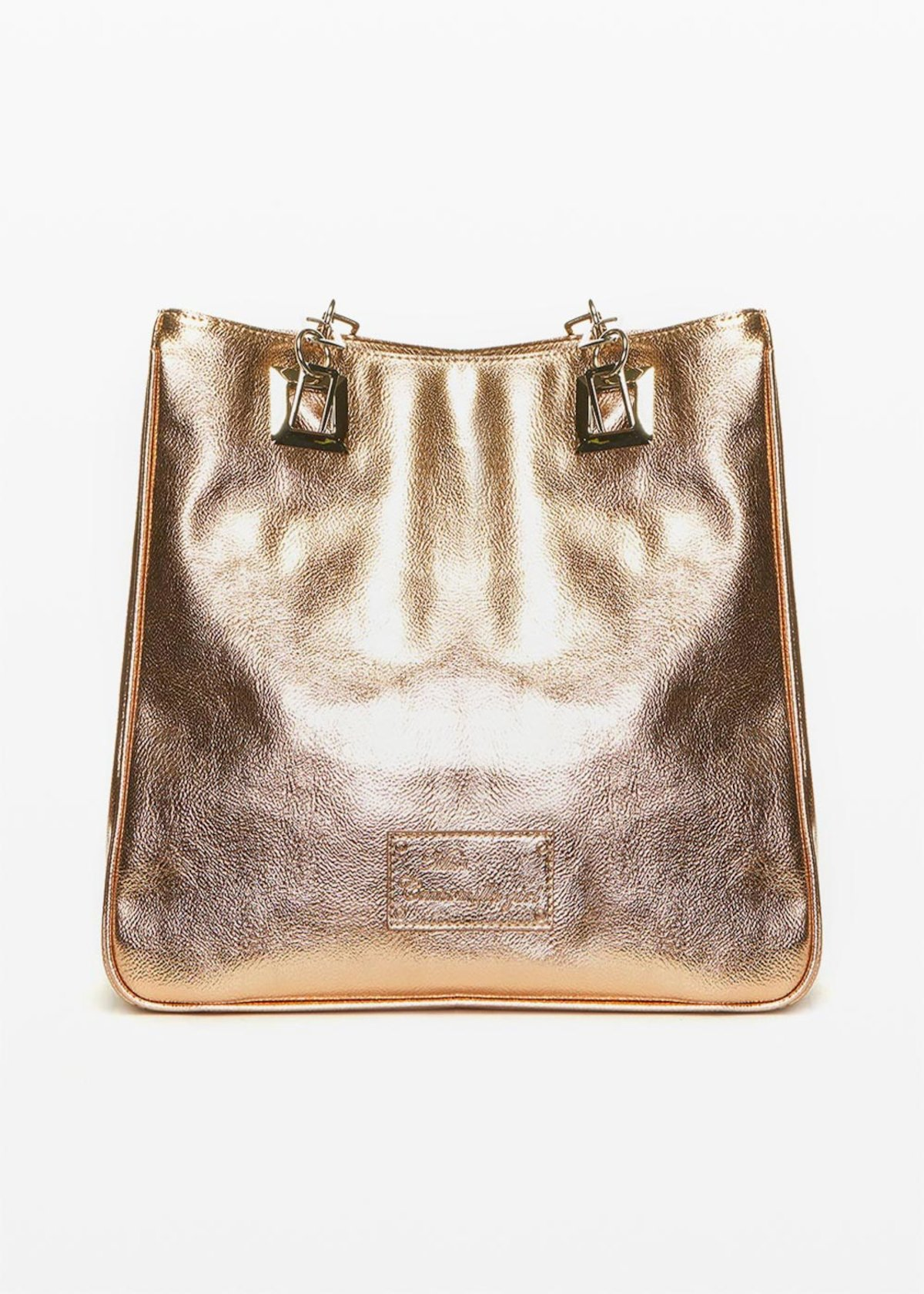 Missimetal shopping bag with zipper - Oca Metal - Woman - Category image