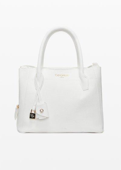 Bruna Bag with gold eyelet detail