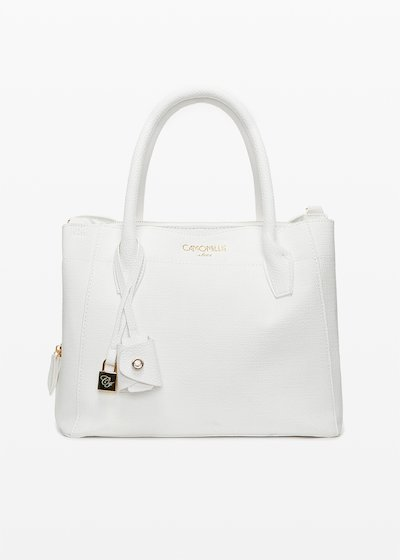 Bruna Bag with gold eyelet detail