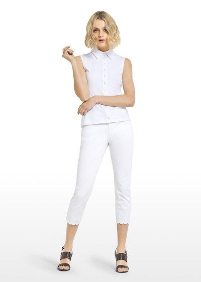 Cassandra shirt with collar