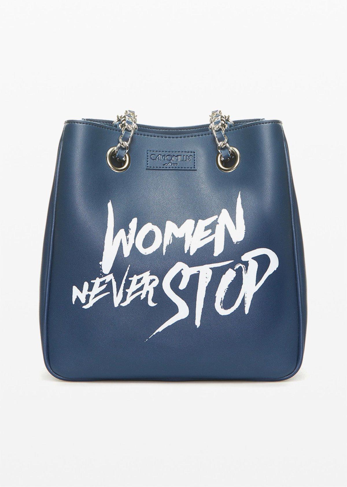 Shopping bag Unlined con logo