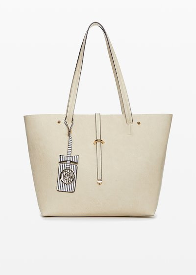 Shopping bag Beth in ecopelle con beauty interno