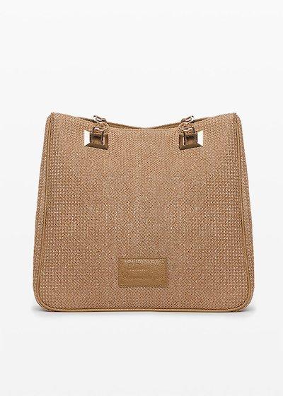 Blindas bag with zipper