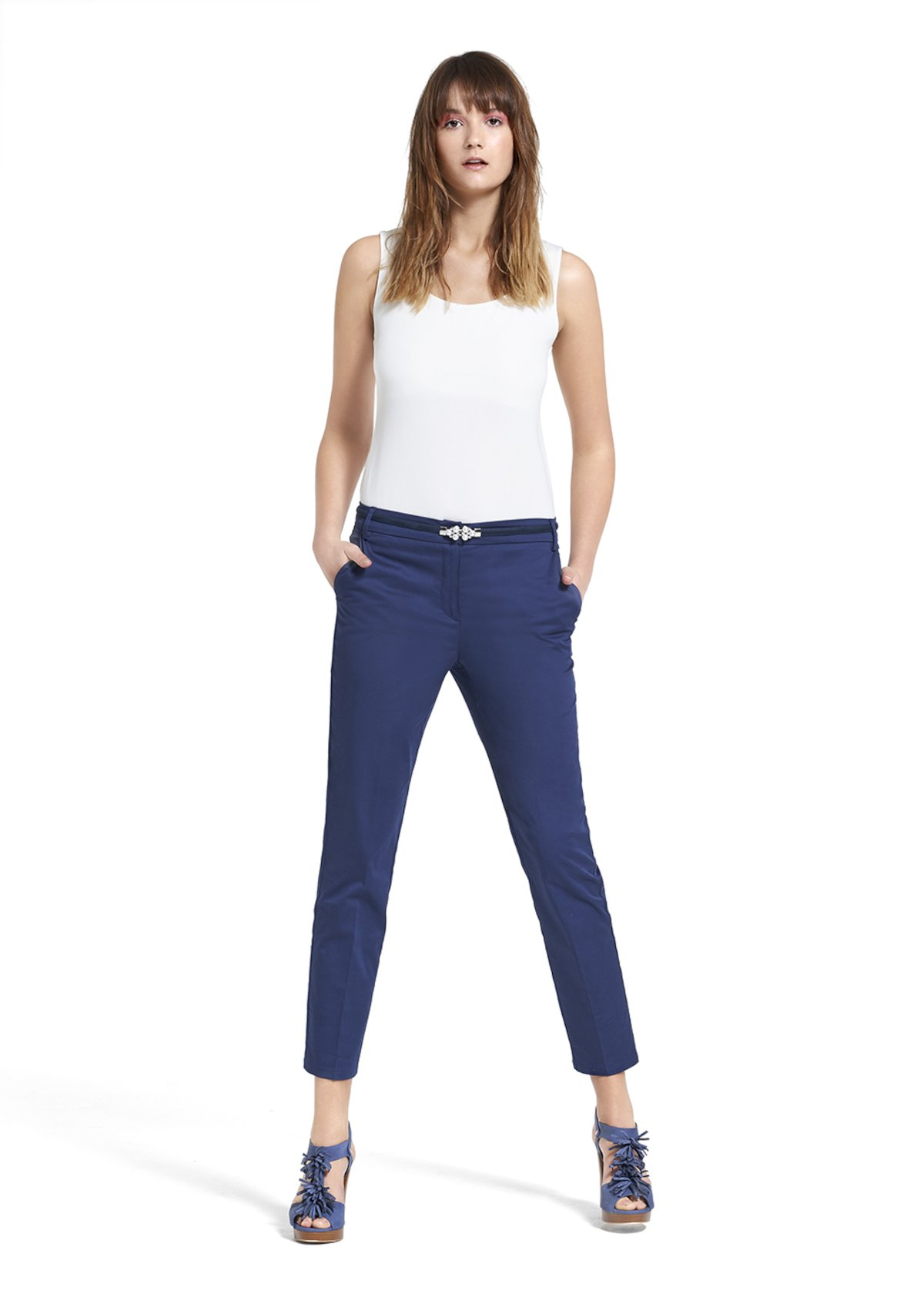 Pantaloni Patric modello hunter - Medium Blue - Donna - Immagine categoria
