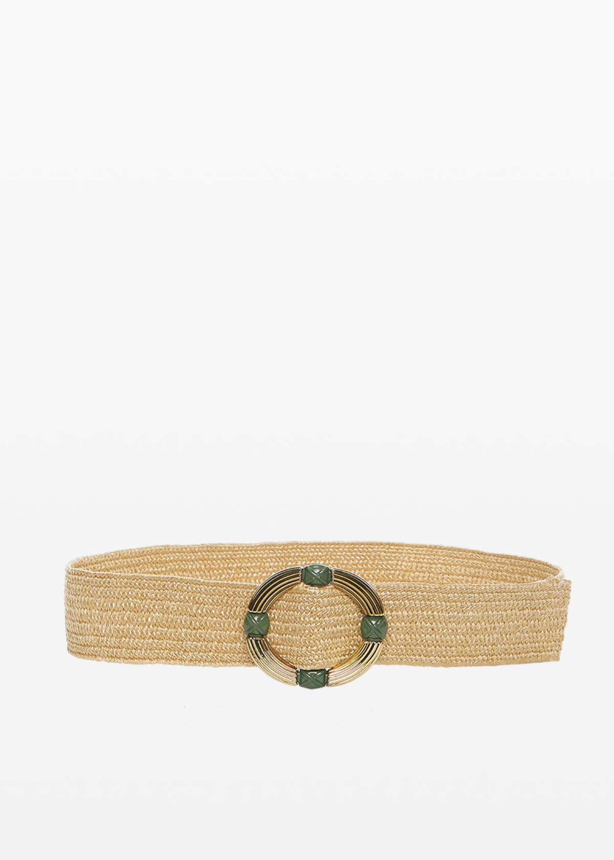 Connye circular buckle belt - Pear - Woman