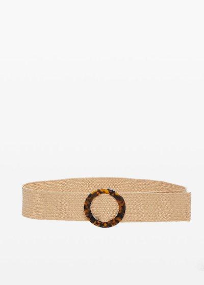 Cintura Cris con fibbia motivo tartaruga