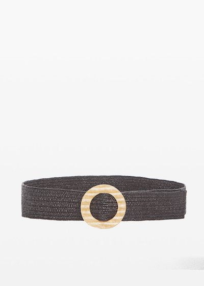 Caddy belt with gold buckle colour
