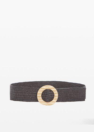 Cintura Caddy con fibbia color gold