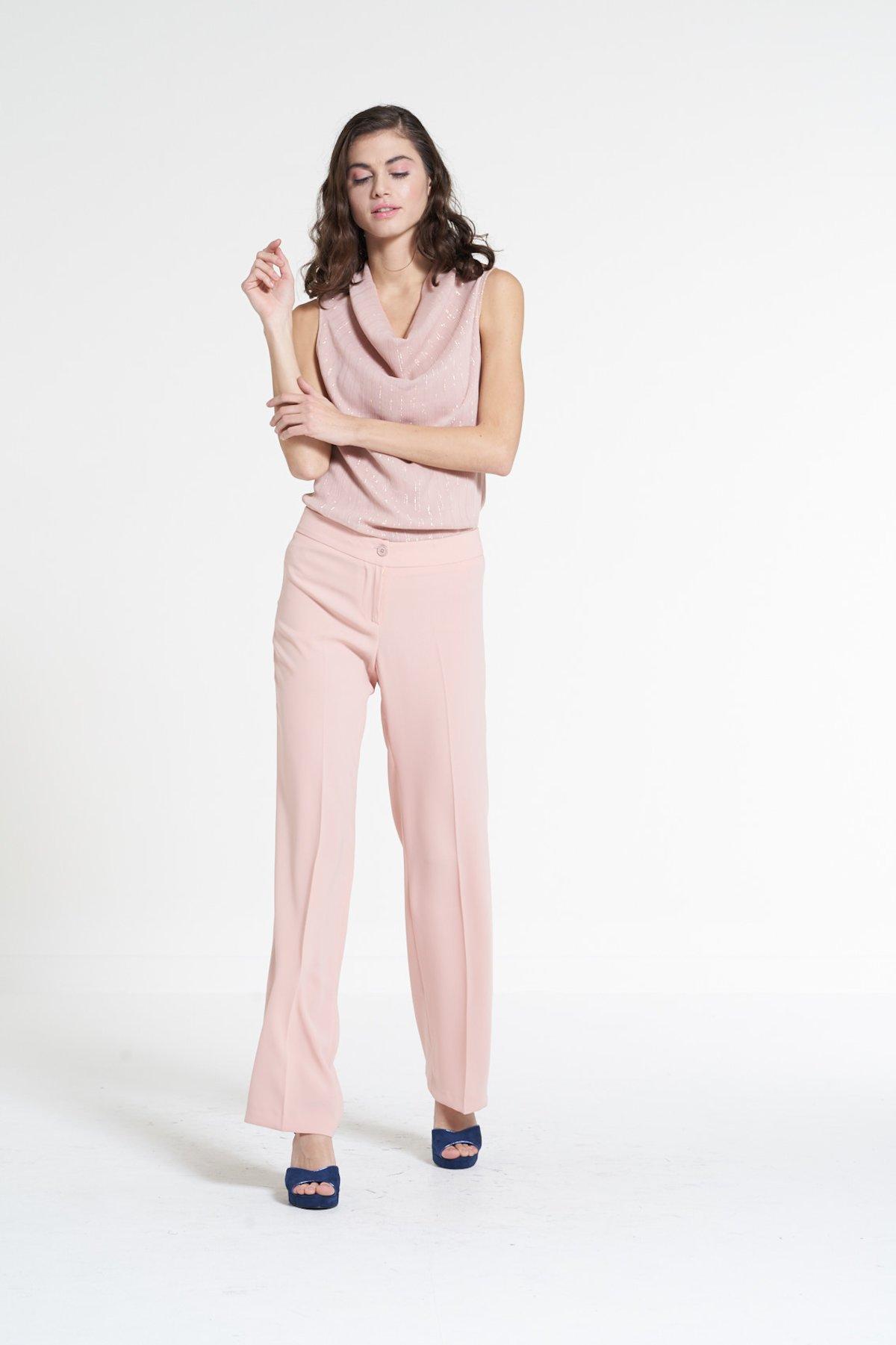 Wide-leg pants Pierre - Calcite - Woman - Category image