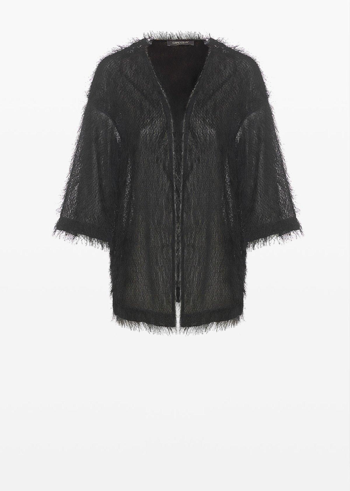 Craing faux fur unlined shrug - Black - Woman - Category image
