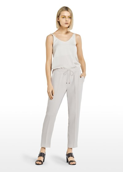 Percy trousers with drawstring waist