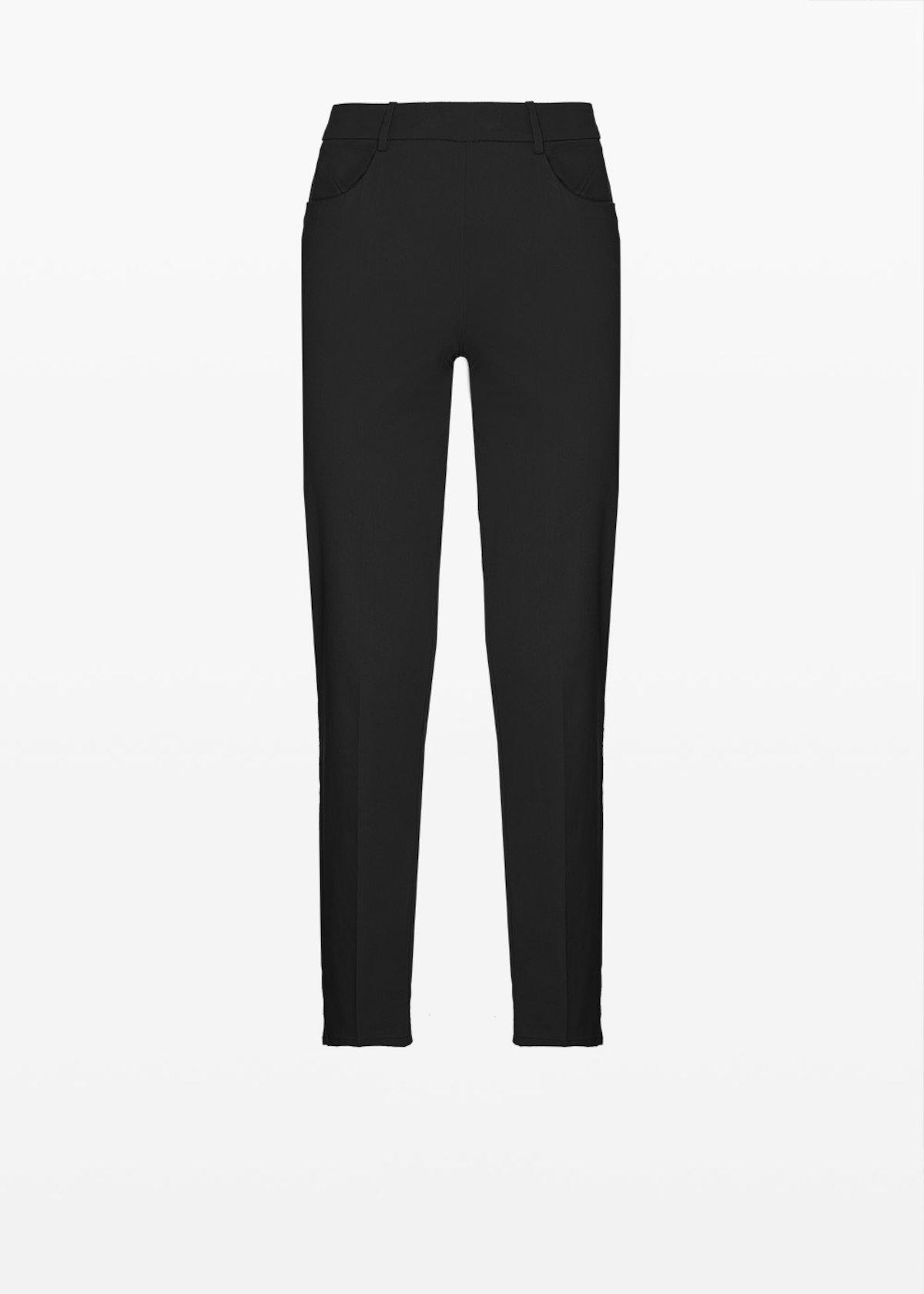 Scarlett C cotton trousers - Black - Woman