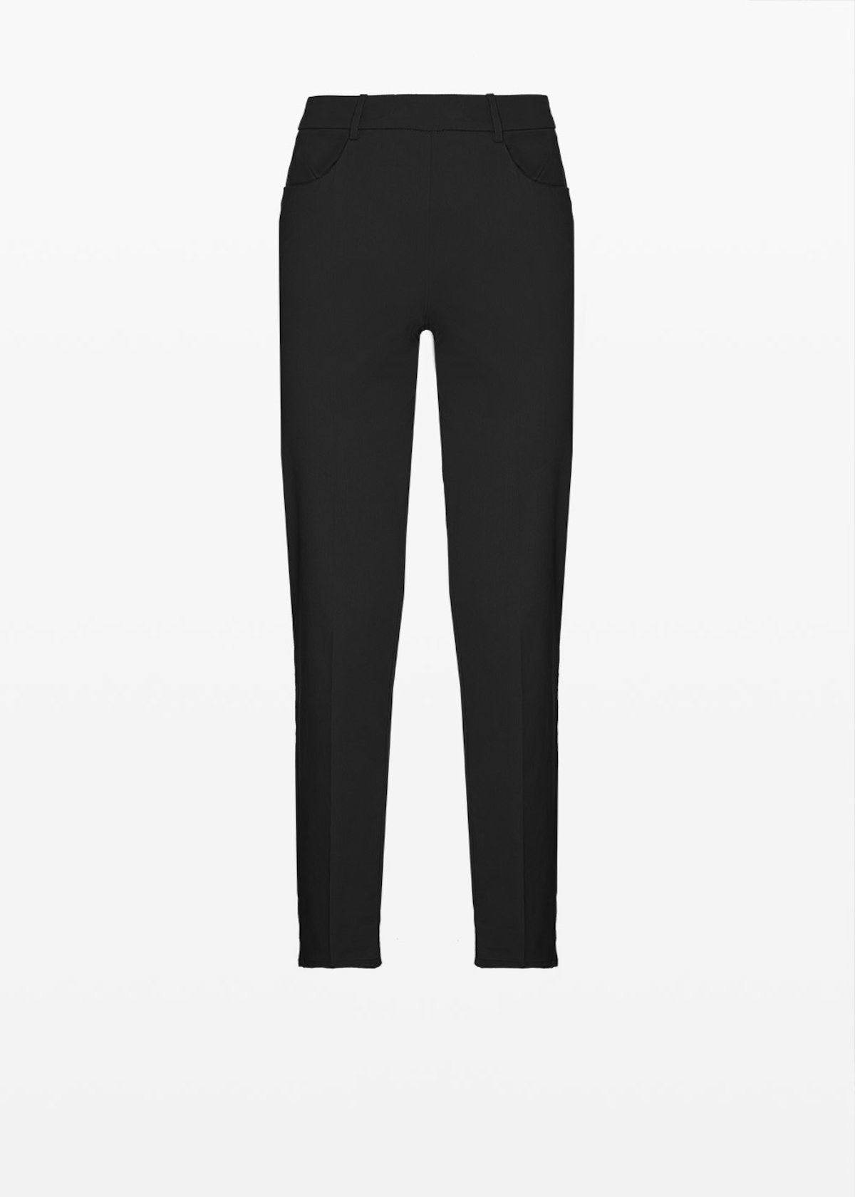 Scarlett C cotton trousers - Black - Woman