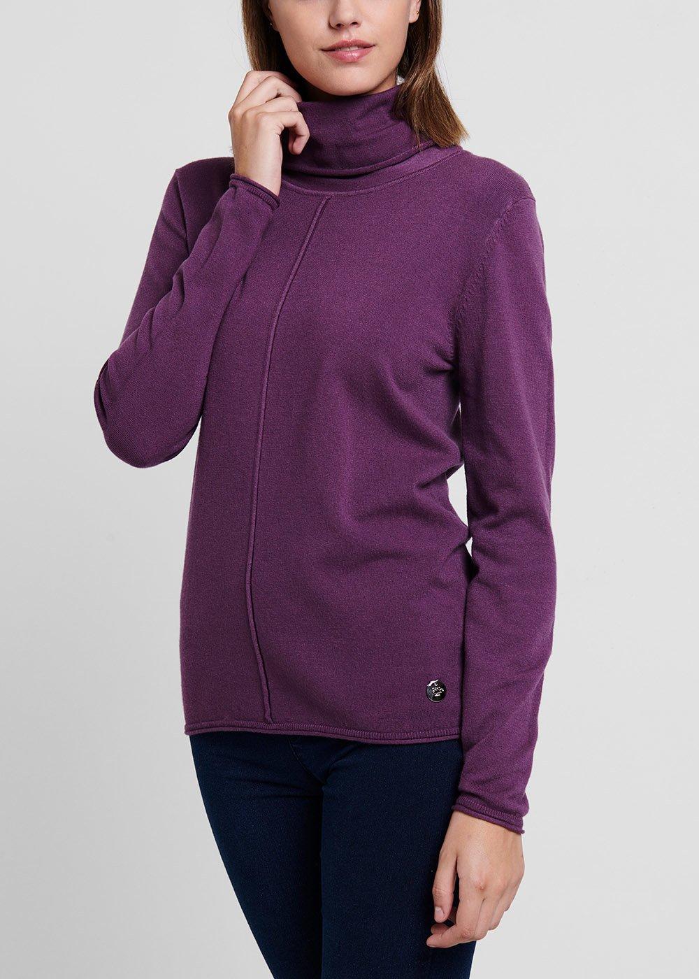 Malika turtleneck sweater in viscose - Astrale - Woman