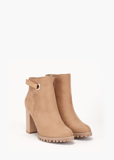 Sissy ankle boot in eco suede