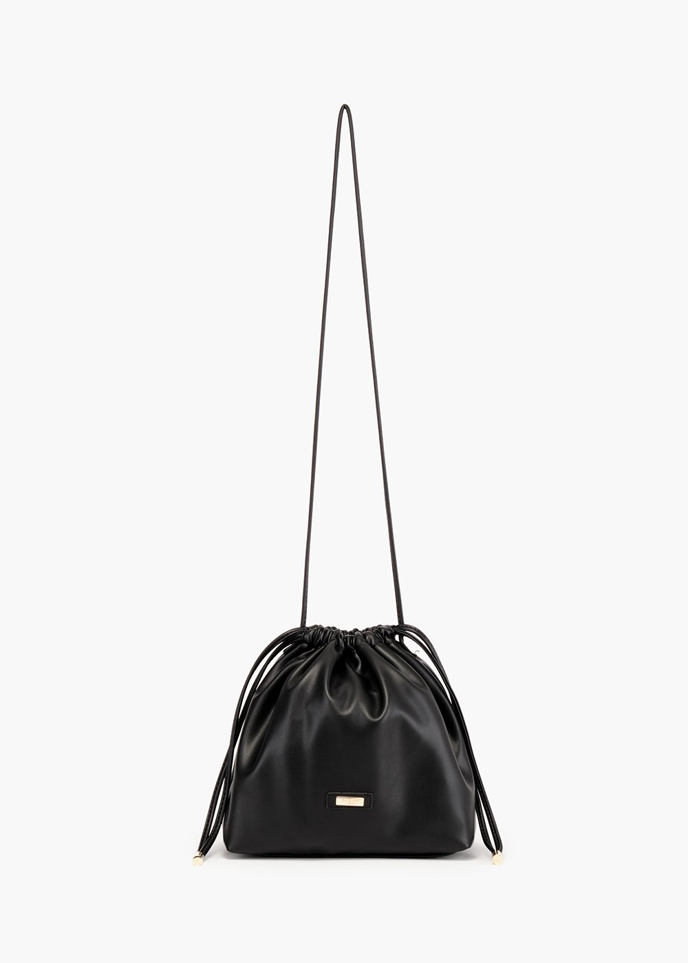 Bennie bucket bag with drawstring closure